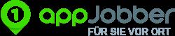 appjobber logo. Black Bedroom Furniture Sets. Home Design Ideas